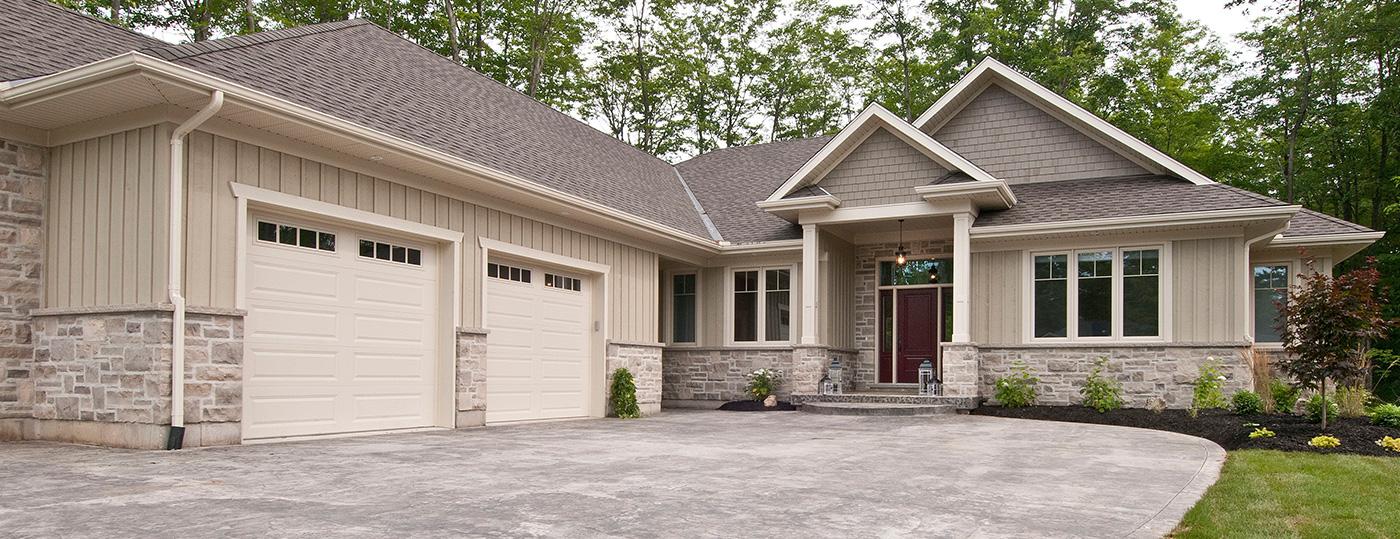 Barrie custom home builders craftsman barrie for Craftsman custom homes