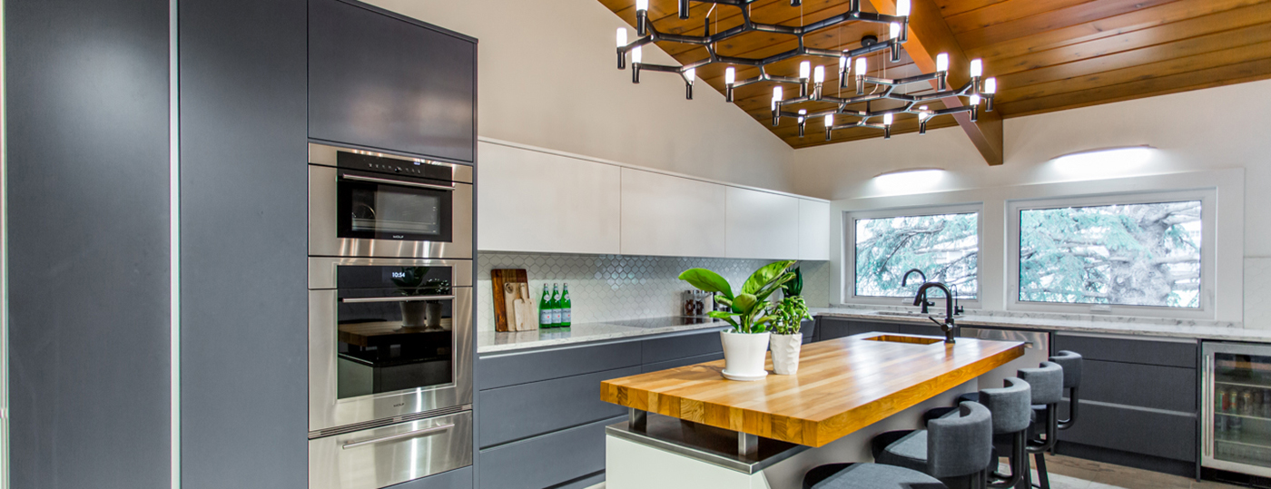 Kitchen Cabinets Vancouver are sleek handleless kitchen cabinets for you? | alair homes east