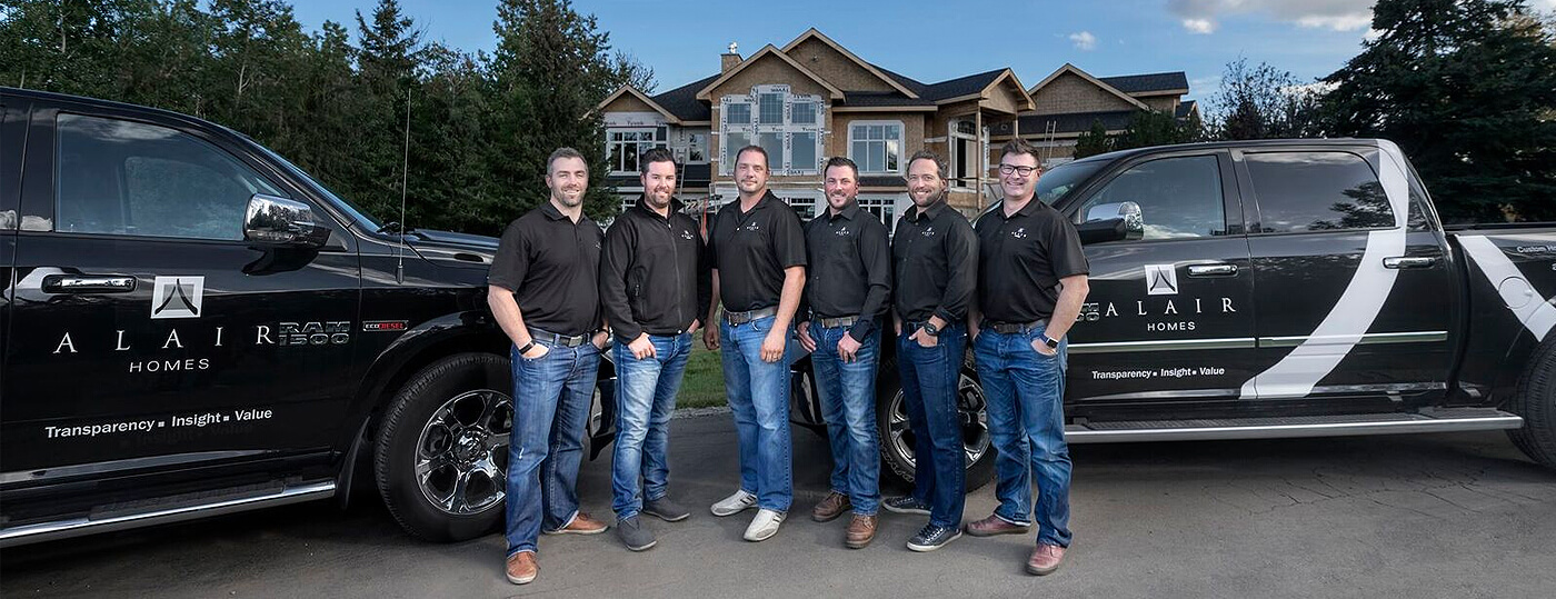 Alair Homes Edmonton Home Builder Team