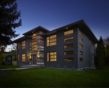 custom home builder association award for alair homes edmonton