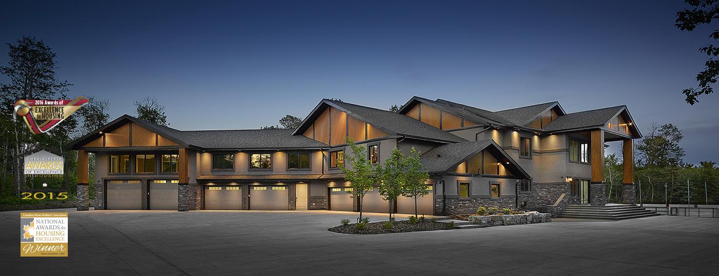 Edmonton custom home builders renovations alair homes for Home builders in canada