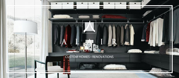 Alair Homes  Closet Space Feature
