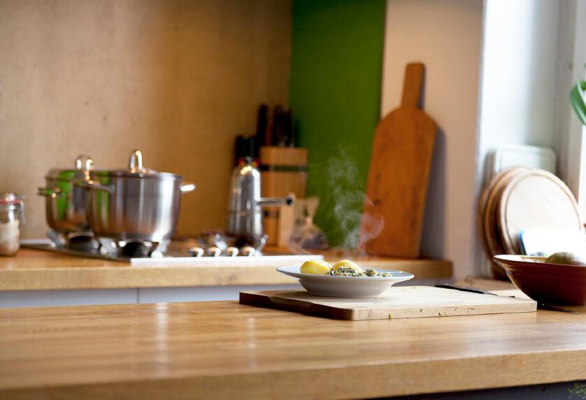 upgrading kitchen with movable island | alair homes nanaimo
