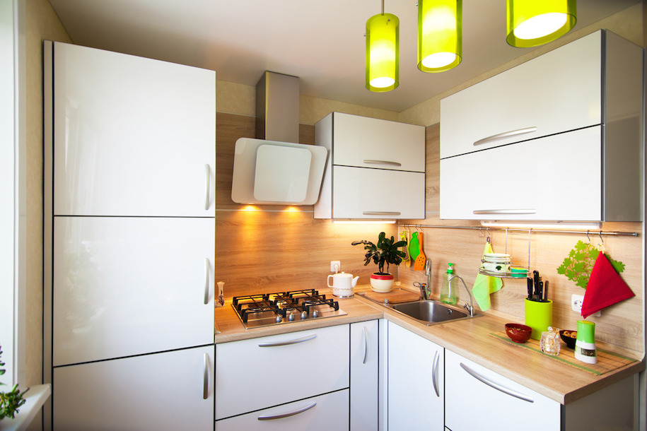 Learn how to save space from 100 square foot kitchens for 100 sq ft room