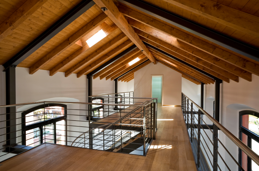 loft conversion ideas uk - Exposed Rafters In Your Home