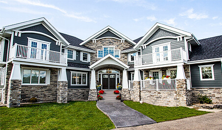 Alair custom home builders home renovations commercial for Home builders in canada