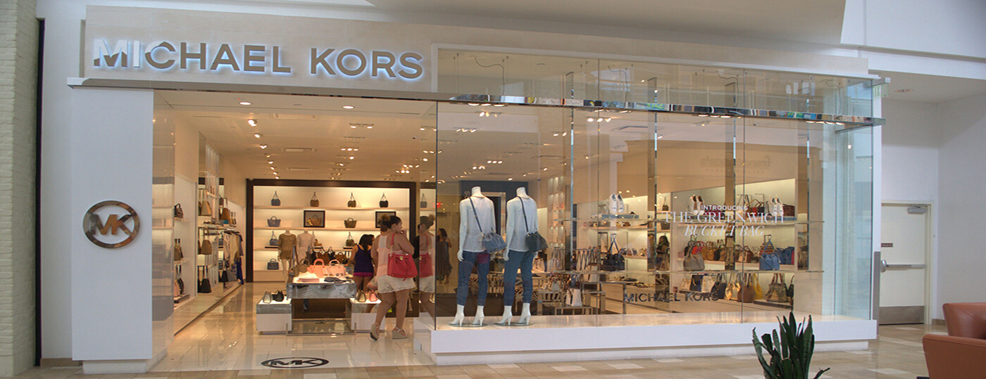 Michael Kors Store Re-Brand