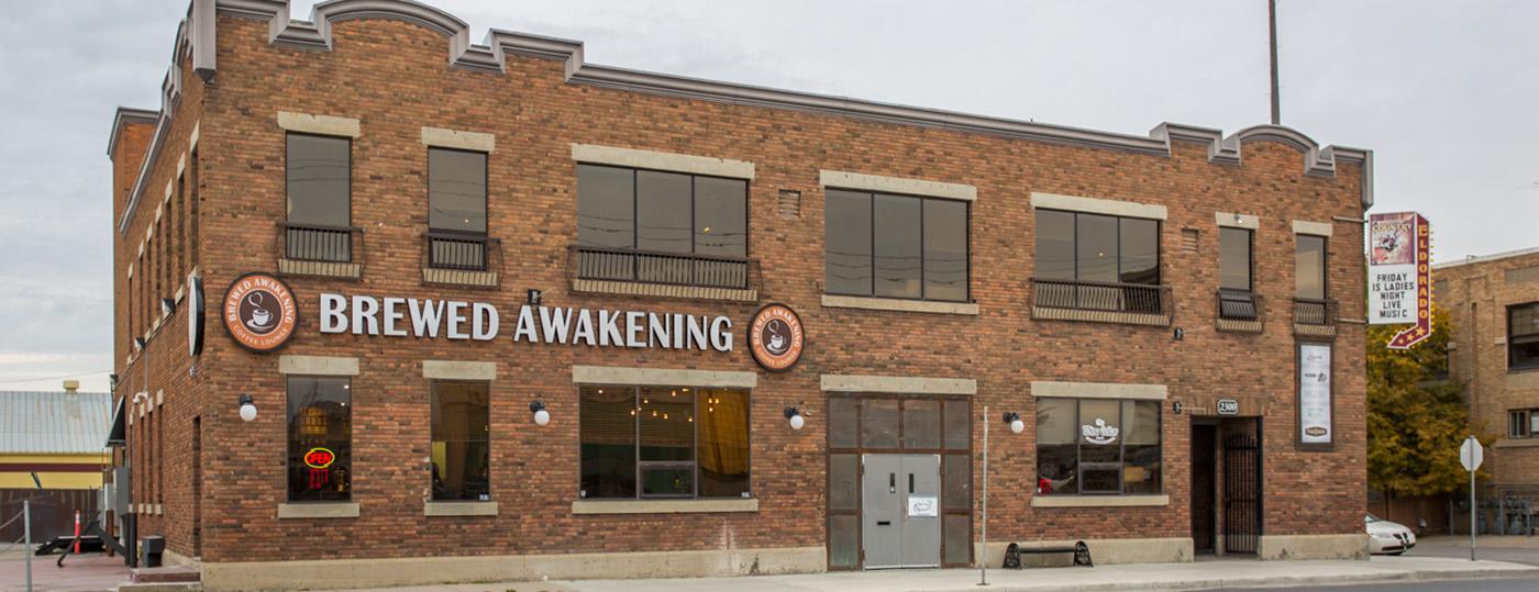 Brewed Awakening Coffee Shop Renovation