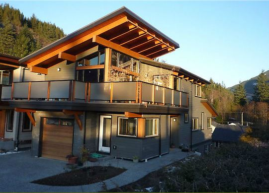 West coast contemporary alair homes west vancouver for Home designs bc