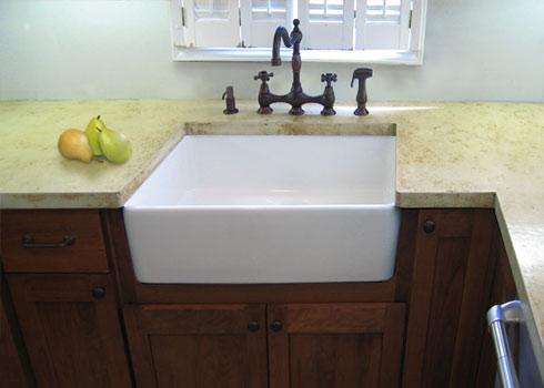DIY Installing a Kitchen Sink Alair Homes Surrey. Diy Concrete Farmhouse Sink