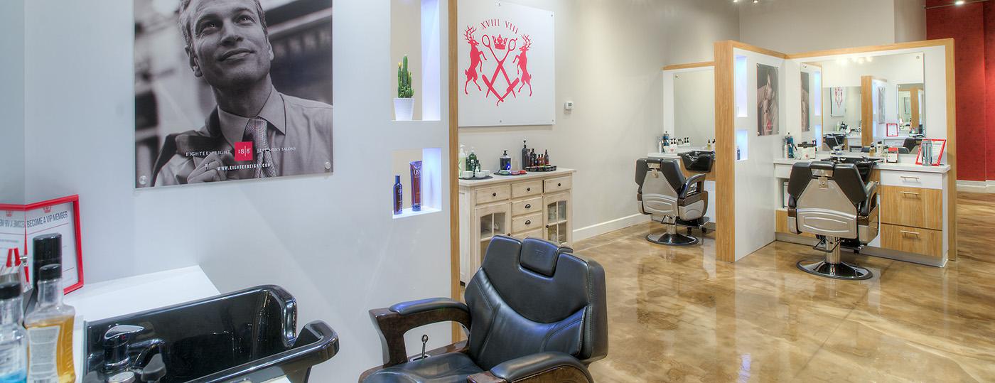 18-8 Fine Men's Salon Renovation