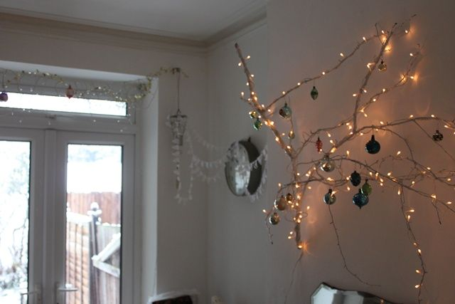 lights and branches