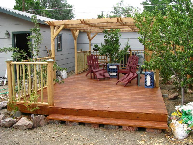 Building a Floating Deck | Alair Homes Calgary on Floating Patio Ideas id=11634