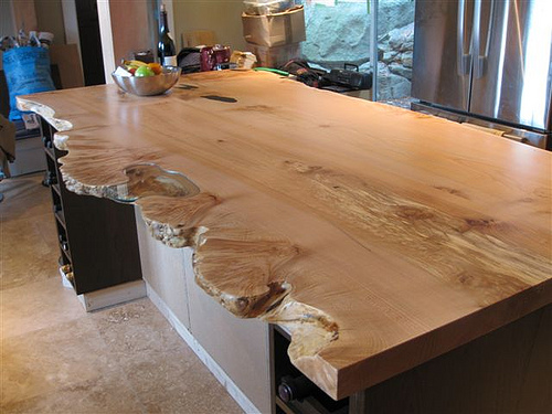 Live Edge Wooden Mantles And Countertops Alair Homes